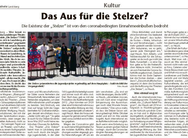 Die Stelzer Landsberg Jugendprojekte